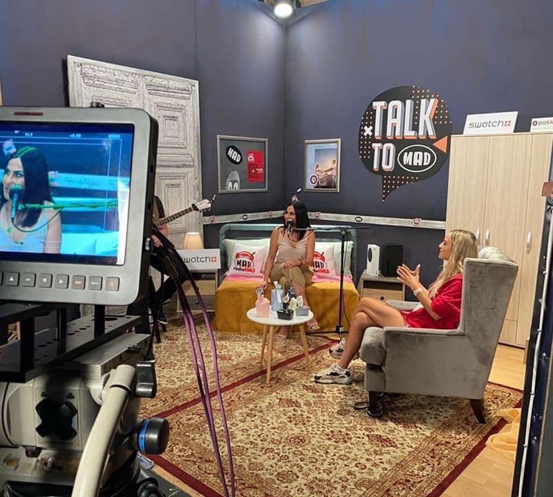 «Talk to Mad» στο MAD με την Ηλιάννα Ζέρβα